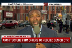 Firm offers to rebuild Baltimore senior...