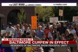 'This is beautiful, this is Baltimore'