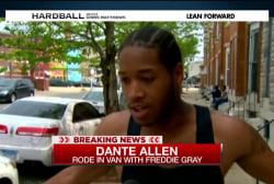 Report: Gray injured inside police van