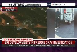 When did Freddie Gray sustain spinal injury?