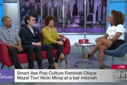 The Clique: Avengers & Minaj at a bar mitzvah