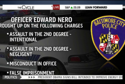 Charges filed against officers in Gray case