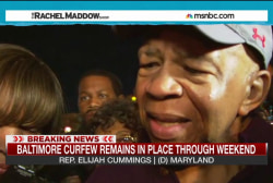 Elijah Cummings: 'I am proud of Baltimore'