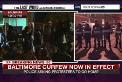 Night 4: Police make arrests as curfew begins