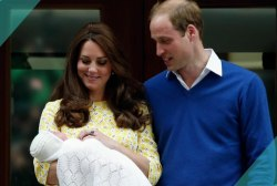 Tale of two families: Royal baby &...