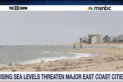 Rising sea levels threaten major cities