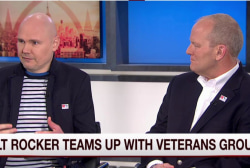 Corgan: Supporting vets not a political issue
