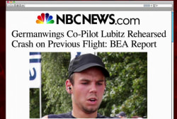 Germanwings pilot rehearsed rapid descent:...
