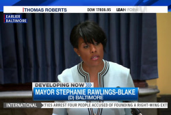 Baltimore mayor asks for DOJ probe of police