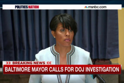Baltimore mayor asks for DOJ investigation
