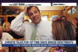 Christie dodges question about NJ indictments