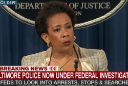 Attorney General announces Baltimore...