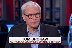 Brokaw opens up about cancer diagnosis
