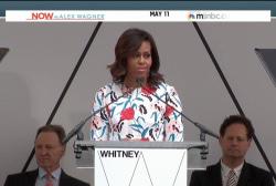 Michelle Obama talks race at Tuskegee U.