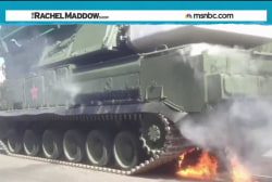 Russian embarrassment: Tanks but no tanks