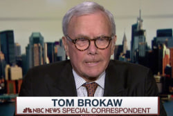 Brokaw on cancer diagnosis, emotional support