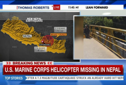 US Marine Corps helicopter missing in Nepal