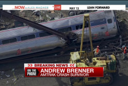Survivor recalls scene of train derailment