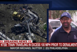 Latest in Amtrak train crash