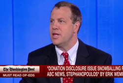 Wemple: Stephanopoulos has an appearance...