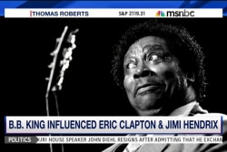 Honoring blues legend B.B. King