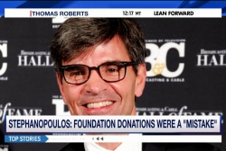 Was Stephanopoulos' apology sufficient?