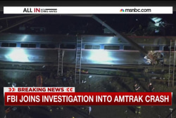 FBI joins Amtrak crash probe