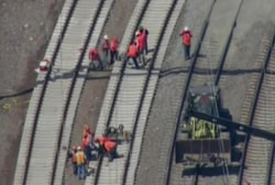 NTSB: Train may have been hit before...