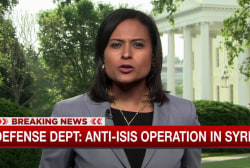 Senior ISIS leader killed in US raid in Syria