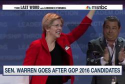 After fiery speech, is Sen. Warren running?