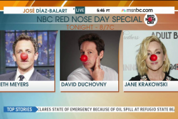What is #RedNose Day?