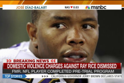 Charges against Ray Rice dismissed