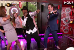 MSNBC hosts hit dance floor with Nick Cannon