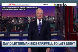 Bidding farewell to David Letterman