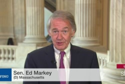Why Ed Markey is working with Mitch McConnell