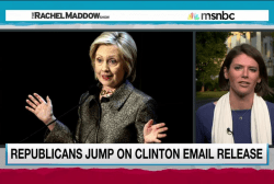 GOP seeks advantage with Clinton emails