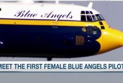 Meet the first female Blue Angels pilot
