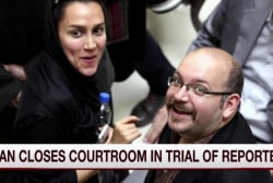 US repoter's trial in Iran is closed to...
