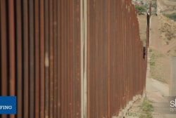Fewer people illegally crossing the border