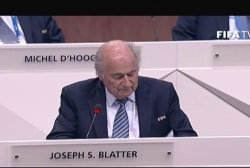 FIFA president 'is what we've got to work...
