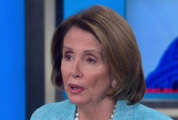 Pelosi talks White House policy against ISIS
