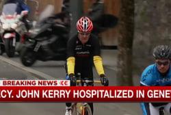 John Kerry hospitalized in Geneva