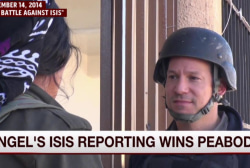 Richard Engel wins Peabody for ISIS reporting