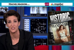 Maddow: Trans community gets a hero in Jenner