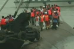 Hundreds remain missing in Yangtze River