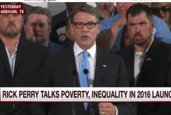 Rick Perry hopeful for comeback WH bid