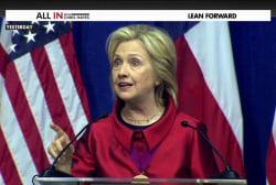 GOP candidates take Hillary Clinton's bait...