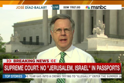 SCOTUS: No 'Jerusalem, Israel' in passports
