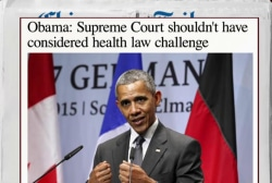 Obama takes a whack at SCOTUS again