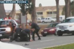 Violent arrest in California under review